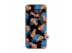 Coque Samsung Galaxy S7 Edge Poisson Clown