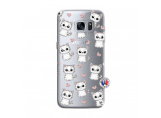 Coque Samsung Galaxy S7 Edge Petits Chats