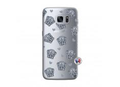 Coque Samsung Galaxy S7 Edge Petits Elephants