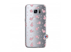 Coque Samsung Galaxy S7 Edge Petits Moutons