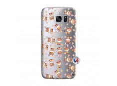 Coque Samsung Galaxy S7 Edge Petits Renards