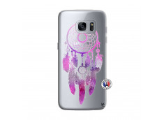 Coque Samsung Galaxy S7 Edge Purple Dreamcatcher