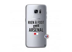 Coque Samsung Galaxy S7 Edge Rien A Foot Allez Arsenal