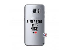 Coque Samsung Galaxy S7 Edge Rien A Foot Allez Nice