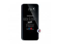 Coque Samsung Galaxy S7 Edge Rien A Foot Allez Paris