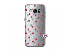 Coque Samsung Galaxy S7 Edge Rose Pattern