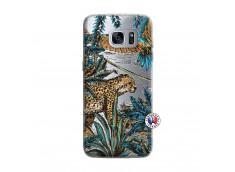 Coque Samsung Galaxy S7 Edge Leopard Jungle