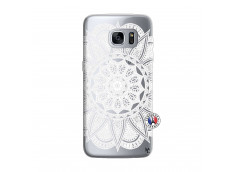 Coque Samsung Galaxy S7 Edge White Mandala