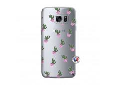 Coque Samsung Galaxy S7 Cactus Pattern