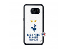 Coque Samsung Galaxy S7 Champion Du Monde Translu