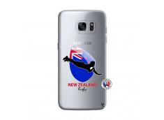 Coque Samsung Galaxy S7 Coupe du Monde Rugby- Nouvelle Zélande