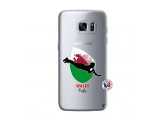 Coque Samsung Galaxy S7 Coupe du Monde Rugby-Walles