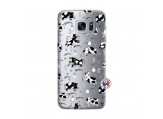 Coque Samsung Galaxy S7 Cow Pattern