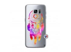 Coque Samsung Galaxy S7 Dreamcatcher Rainbow Feathers
