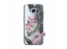 Coque Samsung Galaxy S7 Flower Birds