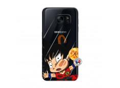 Coque Samsung Galaxy S7 Goku Impact