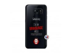 Coque Samsung Galaxy S7 J Peux Pas J Ai Un Braquage Avec Le Professeur