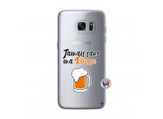 Coque Samsung Galaxy S7 Jamais Sans Ma Rousse