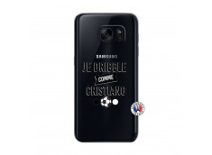 Coque Samsung Galaxy S7 Je Dribble Comme Cristiano