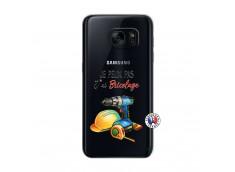 Coque Samsung Galaxy S7 Je Peux Pas J Ai Bricolage