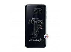 Coque Samsung Galaxy S7 Je peux pas j'ai crossfit