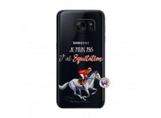 Coque Samsung Galaxy S7 Je Peux Pas J Ai Equitation