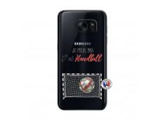 Coque Samsung Galaxy S7 Je peux pas j'ai Handball