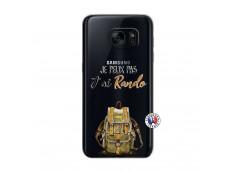 Coque Samsung Galaxy S7 Je Peux Pas J Ai Rando