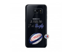 Coque Samsung Galaxy S7 Je Peux Pas J Ai Rugby