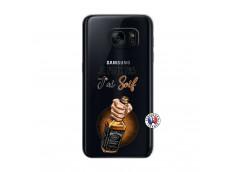 Coque Samsung Galaxy S7 Je Peux Pas J Ai Soif