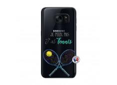 Coque Samsung Galaxy S7 Je Peux Pas J Ai Tennis