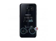 Coque Samsung Galaxy S7 Je Peux Pas J Ai Velo