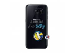 Coque Samsung Galaxy S7 Je Peux Pas J Ai Volley