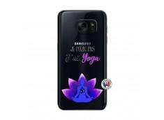 Coque Samsung Galaxy S7 Je Peux Pas J Ai Yoga