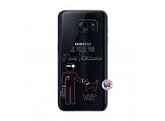 Coque Samsung Galaxy S7 Je Peux Pas Je Suis Veterinaire
