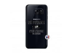 Coque Samsung Galaxy S7 Oh Putain C Est L Heure De L Apero