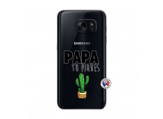 Coque Samsung Galaxy S7 Papa Tu Piques
