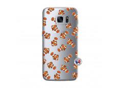 Coque Samsung Galaxy S7 Petits Poissons Clown