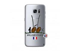 Coque Samsung Galaxy S7 100 % Rugbyman Entre les Poteaux
