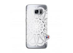 Coque Samsung Galaxy S7 White Mandala