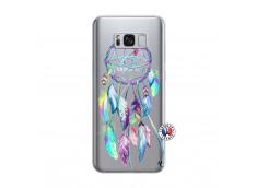 Coque Samsung Galaxy S8 Plus Blue Painted Dreamcatcher