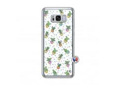 Coque Samsung Galaxy S8 Plus Le Monde Entier est un Cactus Translu