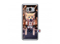 Coque Samsung Galaxy S8 Plus Cat Nasa Translu