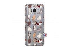 Coque Samsung Galaxy S8 Plus Cat Pattern
