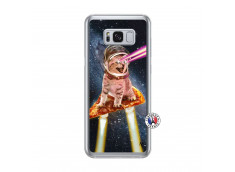 Coque Samsung Galaxy S8 Plus Cat Pizza Translu