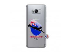 Coque Samsung Galaxy S8 Plus Coupe du Monde Rugby- Nouvelle Zélande