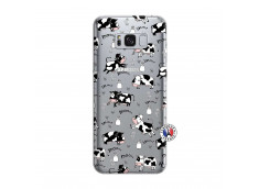 Coque Samsung Galaxy S8 Plus Cow Pattern