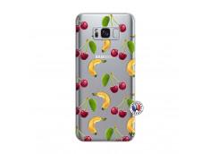 Coque Samsung Galaxy S8 Plus Hey Cherry, j'ai la Banane