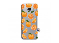 Coque Samsung Galaxy S8 Plus Orange Gina