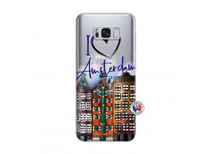 Coque Samsung Galaxy S8 Plus I Love Amsterdam